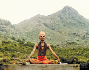 Swami Nithyananda, the controversial guru