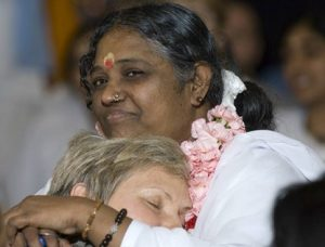 Amma is the hugging guru
