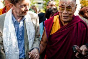 Eckhart with the Dalai Lama